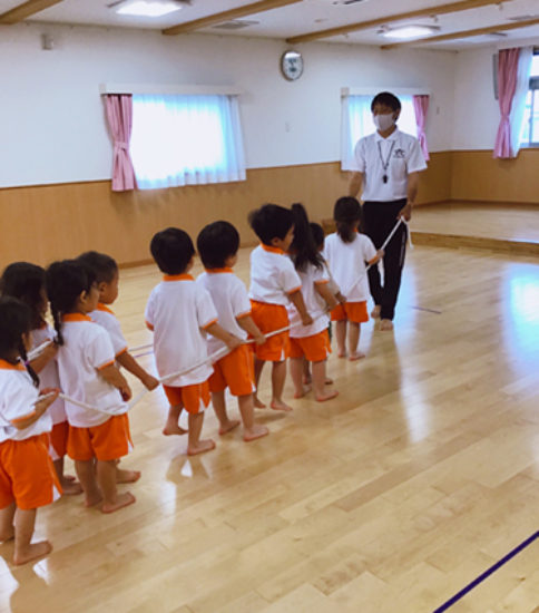 3歳児・4.5歳児クラスの体操教室